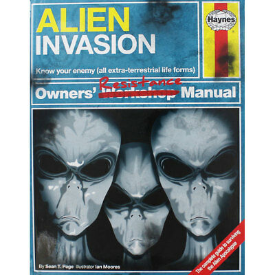 Haynes - Alien Invasion Owners Resistance Manual, Non Fiction Books, Brand New