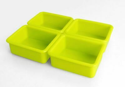 Silicone Plain Rectangular 4 balls Silicone soap Mould plaster Mold