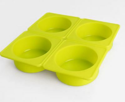 Silicone Four Balls Plain Circle Silicone soap Mould plaster Mold