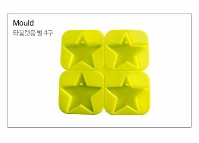 Silicone Tablet Star Shape Four-Sided Silicone soap Mould plaster Mold