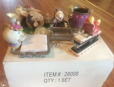 Disney Beauty and the Beast Desk Accessories 5 Piece Set New in Box