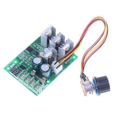 PWM  DC6-60V 30A Motor Speed Controller Module Dimmer Current Display  I