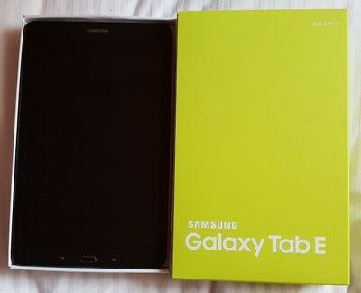 Samsung Galaxy Tab E SM-T560 8GB WiFi Metallic Black
