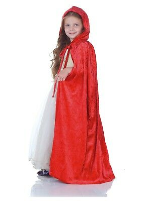 New Red Riding Hood Cape Hooded For Adult Or Child Fancy/Costume Party Halloween