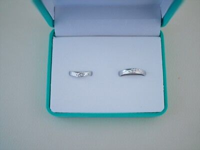 New in Box Mickey & Minnie Mouse Disney Pair Ring Set of 2 Wedding Engagement S