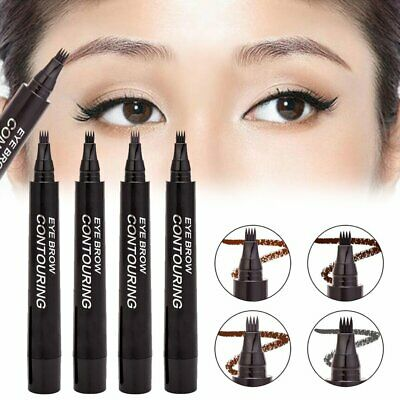Waterproof Tattoo Pen Semi Permanent Makeup Eyebrow Pencil Microblading Tool KU