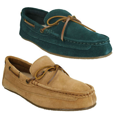 75d6f8829c0 Crackling Glow Mens Clarks Warm Indoor Lounge Casual Suede Moccasin Slippers