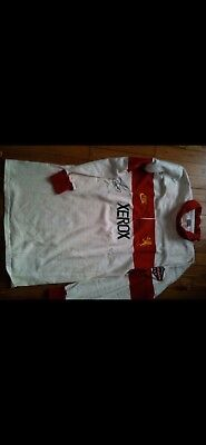 Francois Pienaar Transvaal/lions Matchworn Rugby Shirt/jersey/top Signed No6