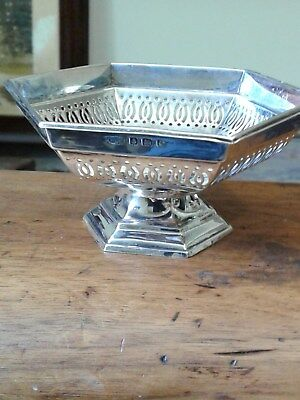 Sterling Silver Dish And Spoon Hallmark