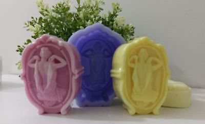 Silicon Beautiful Woman Silicone soap Mould plaster Mold