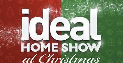 IDEAL HOME SHOW at Christmas Tickets - Friday 23 Nov 2018 - 2 Adult 2 Children