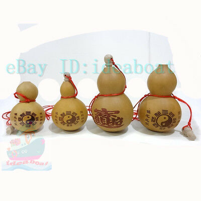 Home craft(tall13cm/17cm)Potable Natural Real Dried Bottle Gourd decor ornaments