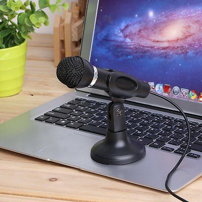 Notebook Desktop Microphone KTV-307 Wire Karaoke Handheld Microphone 3.5mm AW