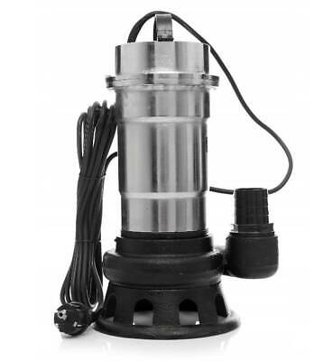 Cesspool Sewage Dirty Water Deep Well Septic Sump Pump + Grinder 2850W 25000L/h