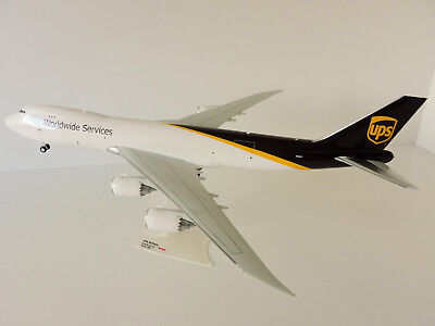 BOEING 747-8F UPS Airlines 1/200 Herpa 558822 747 747-8 FREIGHTER FRACHTER