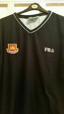 West Ham Fila Blue Top, XL