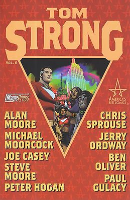 TOM STRONG Vol. 6 ALAN MOORE...ed. Magic Press NUOVO SCONTO 50%