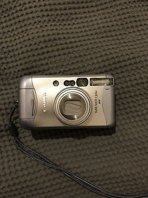 Canon Sure Shot 130u Point And Shoot Vintage Film Camera Contax T2 Mju ii