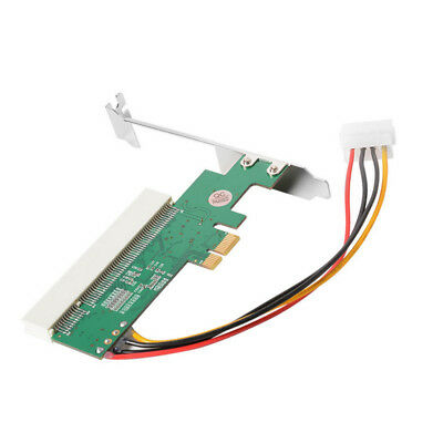 PCI Express PCI-E to PCI Adapter Card Asmedia 1083 Chipset Green AC385