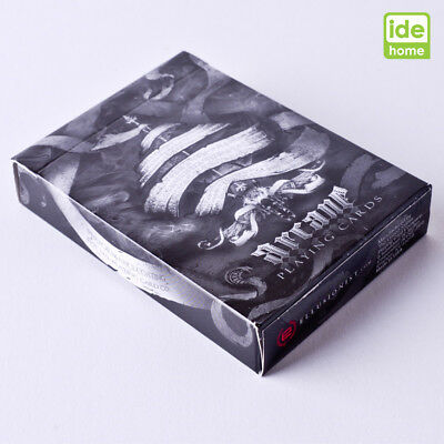 Ellusionist Arcane Black Playing Cards Deck Magic Poker