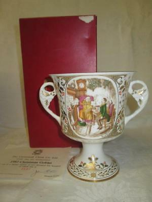 Caverswall China Limited Edition Christmas Goblet 1979 (COA/Boxed)