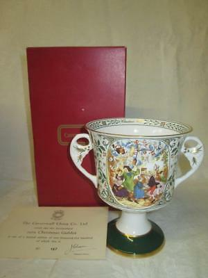 Caverswall China Limited Edition Christmas Goblet 1981 (COA/Boxed)