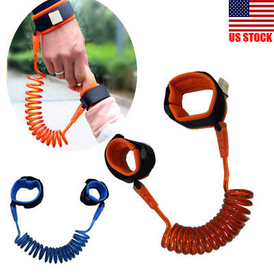Toddler Kids Baby Safety Walking Harness Anti-lost Strap Wrist Leash Hand Belts