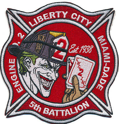 Miami Dade Fire Station 2 Liberty City (Florida) New Sept. 2018 Fire Patch
