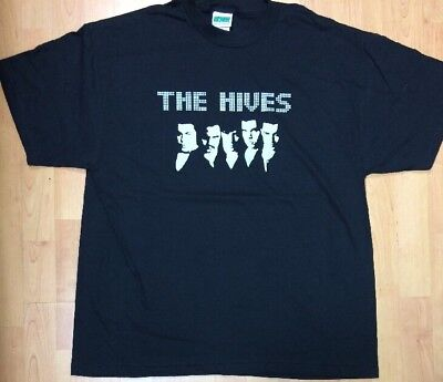 The Hives Rock Band Men's X-Large Shirt New