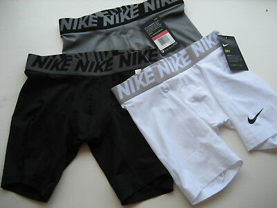 Nwt Nike Boys Base Layer Compression Shorts Sports Football, Basketball