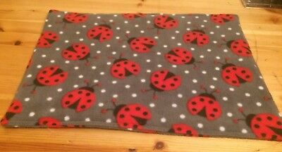 "WATERPROOF Lap / Pee / Wee Pad For Guinea Pigs + small animals.Fleece 17"" X 13"""