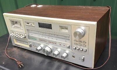 Vintage Soundesign PLL 5943 Cassette Recorder 8-track Am-fm  Stereo Reciever