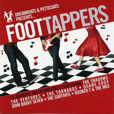 Dreamboats and Petticoats Presents - Foot Tappers (CD)