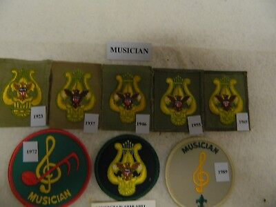 Boy Scout Musician Insignia Collection