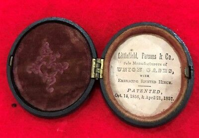 Littlefield, Parsons And Co., Oval Union Case
