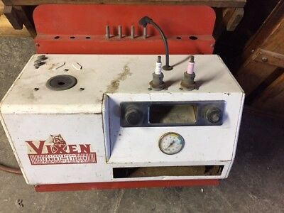 Vintage 1960's Vixen Model 400 Spark Plug Cleaner and Tester
