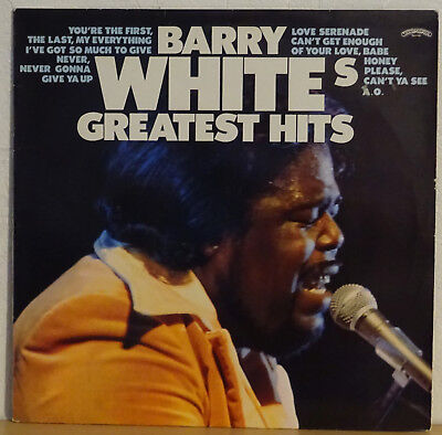 Vinyl LP Barry White - Greatest Hits