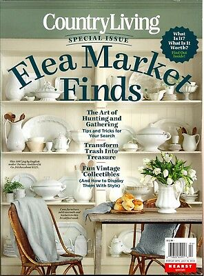 Country Living Presents Flea Market Finds Special Issue 2018 Vintage Collectible
