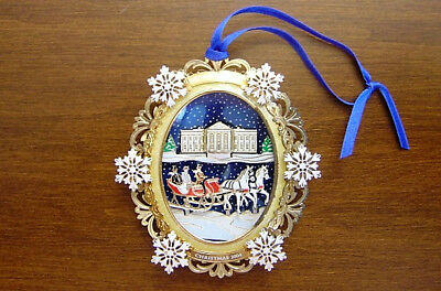 The White House 2004 Christmas Ornament President Rutherford Hayes 3D Xmas