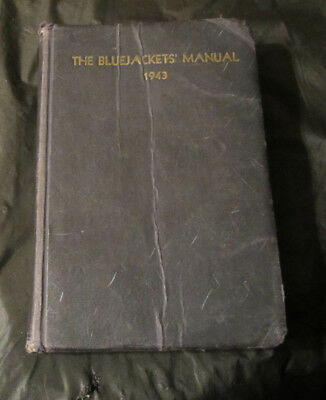 1943 11th edition US Navy 1943 The Bluejacket Manual -book military