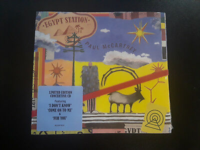 Paul McCartney Egypt Station Limited Edition Concertina CD - NEW & FREE SHIPPING