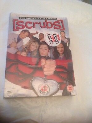 Scrubs : The Complete Fifth Season / Series 5 ~ UK DVD ~ Brand New & Sealed