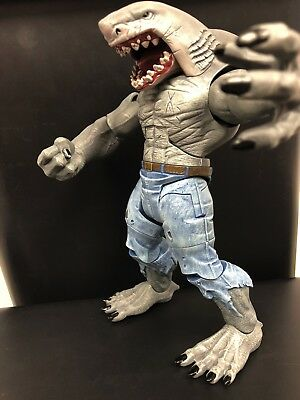 DC Comics Multiverse KING SHARK ALL PIECES *COMPLETE* Collect & Connect FIGURE