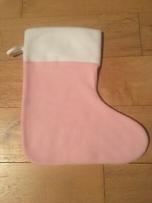 Wholesale Job lot X 37 Baby Christmas Stockings Pink