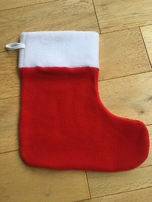 Wholesale Job lot X 18 Baby Christmas Stockings Red