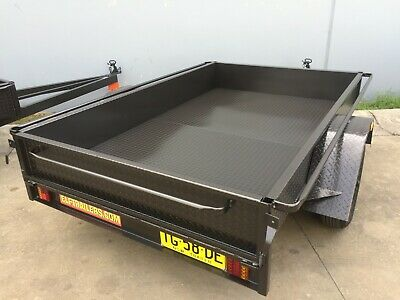 Australian Made 8X5 Box Trailer Single Axle Now In Stock Led Also 7X4 7X5 Avail