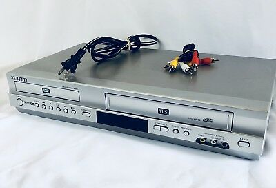 samsung dvd v4600a dvd vcr combo player vhs recorder with rca