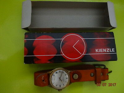 1960 KIENZLE MARKANT GOLDEN 31mm Cal 051b53 NO(0)J ORGNL CARDBOARD BOX SERVICED