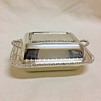 Vintage Silver Plate Covered Lidded Dish, Tiny Miniature Candy, Nut, Condiment