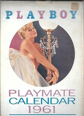 Playboy 1961 Playmate Calendar (Vg+) With Outer Sleeve